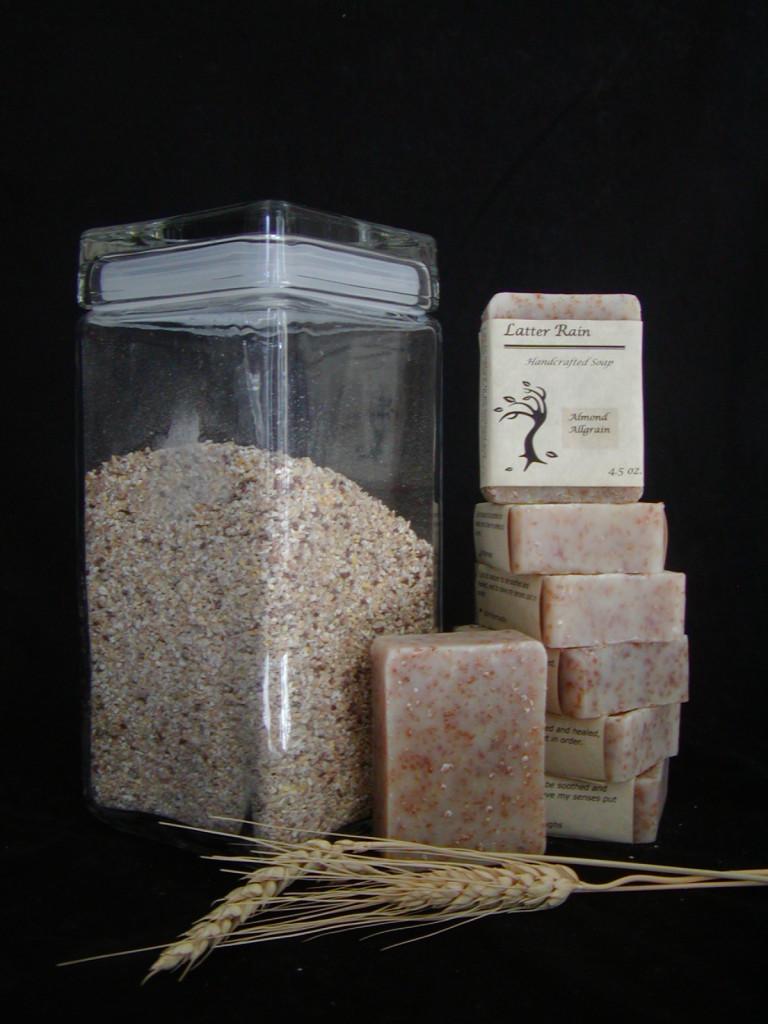 Almond Allgrain Bath Soap