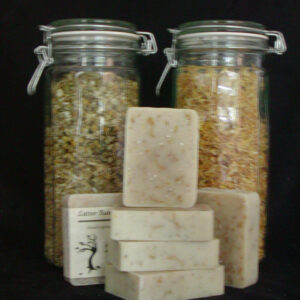 Chamomile, Calendula and Oatmeal Bath Soap