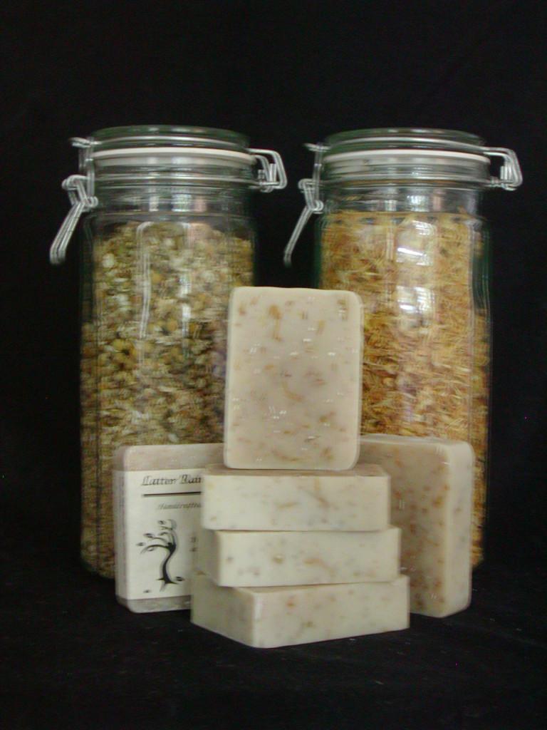 Chamomile, Calendula and Oatmeal Bath Soap
